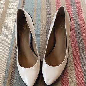 Ann Taylor 2 tone high heels